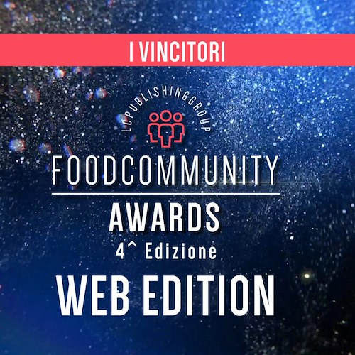 Foodcommunity Awards, Sal De Riso l'unico premiato in Costiera Amalfitana tra 43 eccellenze del food & beverage