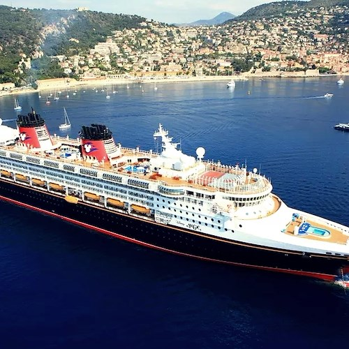 "La ""Disney Magic"" approda in Costa d'Amalfi nel 2019 per una crociera da sogno"