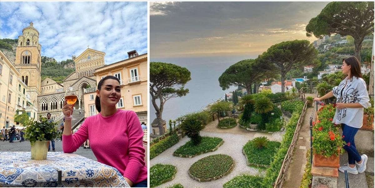 L'attrice russa Marina Kravets innamorata di Ravello - Amalfi News